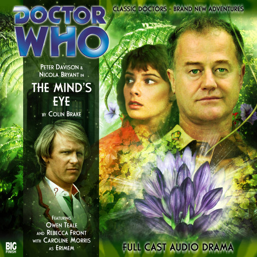 Doctor Who: THE MIND'S EYE - Big Finish 5th Doctor Audio CD #102