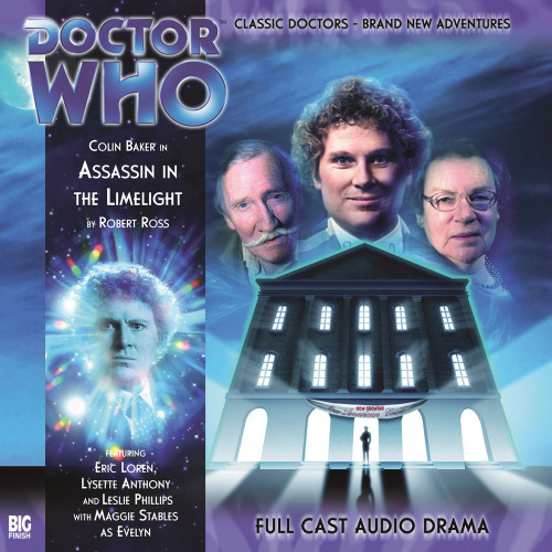 Doctor Who: ASSASSIN IN THE LIMELIGHT - Big Finish 6th Doctor Audio CD #108