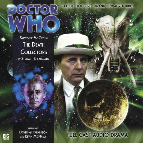 Doctor Who: THE DEATH COLLECTORS - Big Finish 7th Doctor Audio CD #109