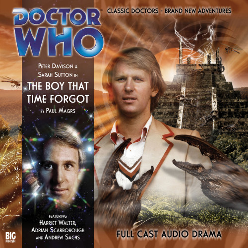 Doctor Who: THE BOY THAT TIME FORGOT - Big Finish 5th Doctor Audio CD #110