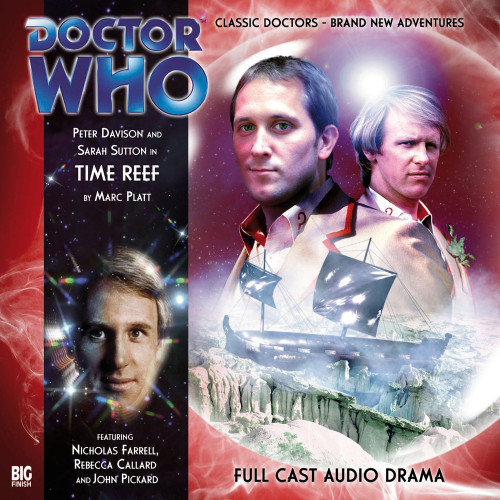 Doctor Who: TIME REEF - Big Finish 5th Doctor Audio CD #113
