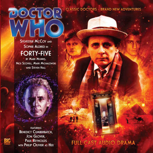 Doctor Who: FORTY-FIVE - Big Finish 7th Doctor Audio CD #115