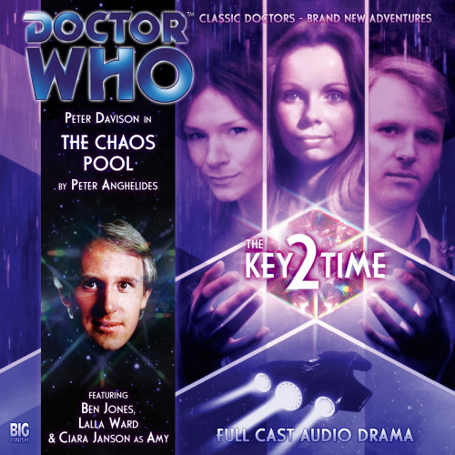 Doctor Who: KEY 2 TIME: THE CHAOS POOL - Big Finish 5th Doctor Audio CD #119
