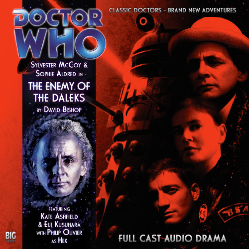 Doctor Who: ENEMY OF THE DALEKS - Big Finish 7th Doctor Audio CD #121