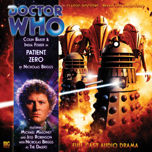 Doctor Who: PATIENT ZERO - Big Finish 6th Doctor Audio CD #124