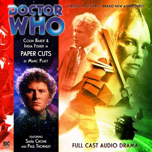 Doctor Who: PAPER CUTS - Big Finish 6th Doctor Audio CD #125