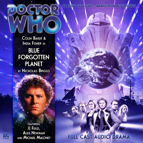 Doctor Who: BLUE FORGOTTEN PLANET - Big Finish 6th Doctor Audio CD #126