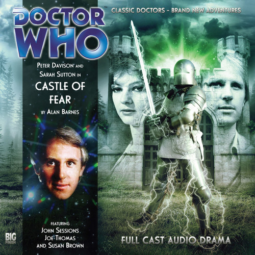 Doctor Who: CASTLE OF FEAR - Big Finish 5th Doctor Audio CD #127