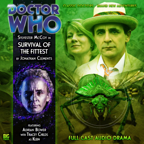 Doctor Who: SURVIVAL OF THE FITTEST - Big Finish 7th Doctor Audio CD #131