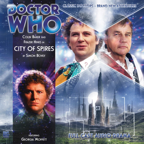 Doctor Who: CITY OF SPIRES - Big Finish 6th Doctor Audio CD #133 (Last Few)