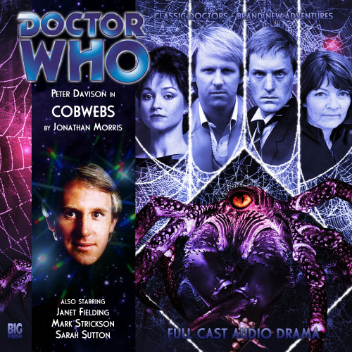 Doctor Who: COBWEBS - Big Finish 5th Doctor Audio CD #136