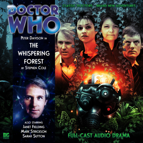 Doctor Who: THE WHISPERING FOREST - Big Finish 5th Doctor Audio CD #137