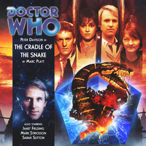 Doctor Who: THE CRADLE OF THE SNAKE - Big Finish 5th Doctor Audio CD #138