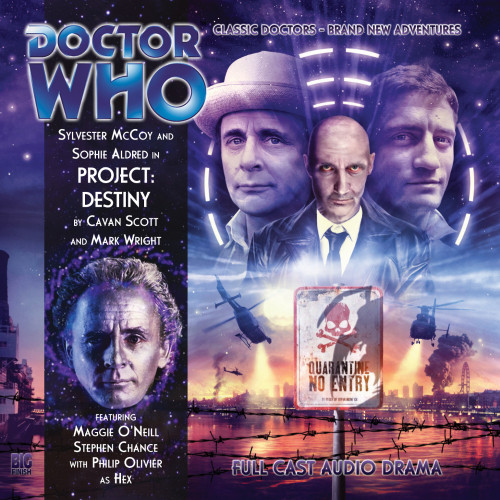 Doctor Who: PROJECT: DESTINY - Big Finish 7th Doctor Audio CD #139