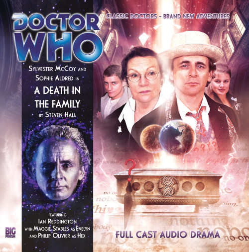 Doctor Who: A DEATH IN THE FAMILY - Big Finish 7th Doctor Audio CD #140