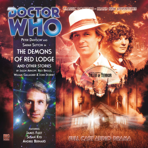 Doctor Who: THE DEMONS OF RED LODGE and OTHER STORIES - Big Finish 5th Doctor Audio CD #142