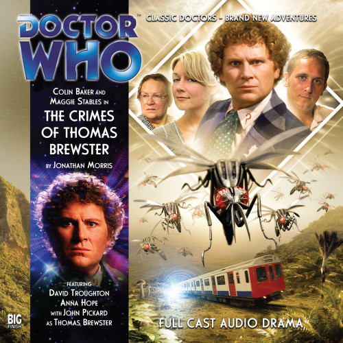Doctor Who: THE CRIMES OF THOMAS BREWSTER - Big Finish 6th Doctor Audio CD #143