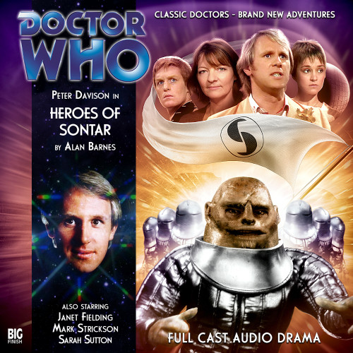Doctor Who: HEROES OF SONTAR - Big Finish 5th Doctor Audio CD #146