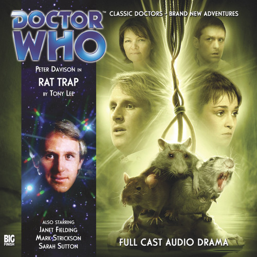 Doctor Who: RAT TRAP - Big Finish 5th Doctor Audio CD #148