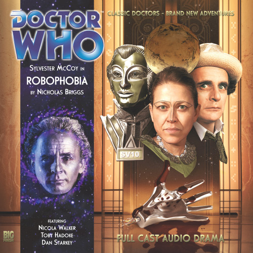 Doctor Who: ROBOPHOBIA - Big Finish 7th Doctor Audio CD #149