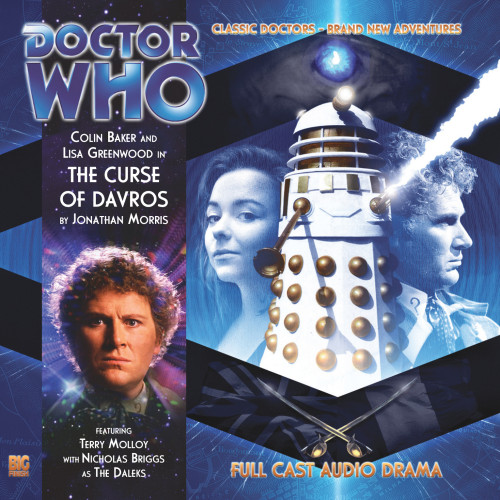 Doctor Who: THE CURSE OF DAVROS - Big Finish 6th Doctor Audio CD #156