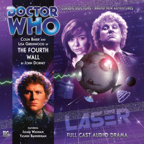 Doctor Who: THE FOURTH WALL - Big Finish 6th Doctor Audio CD #157