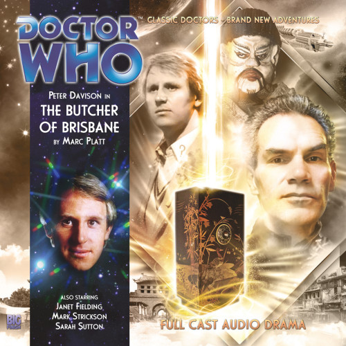 Doctor Who: THE BUTCHER OF BRISBANE - Big Finish 5th Doctor Audio CD #161