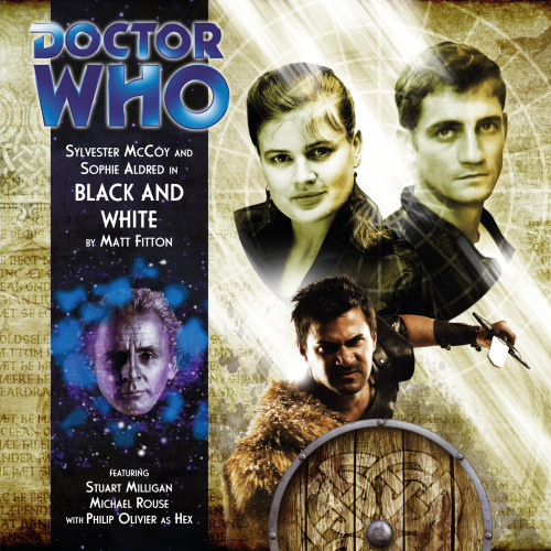 Doctor Who: BLACK AND WHITE - Big Finish 7th Doctor Audio CD #163