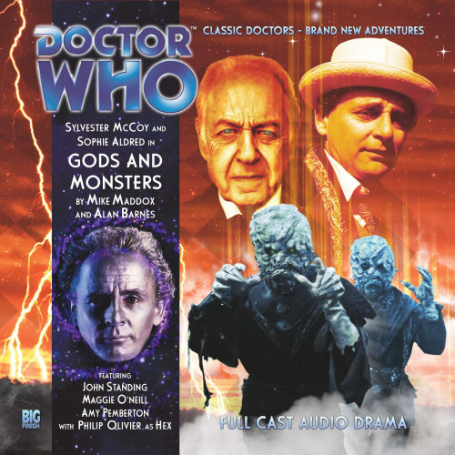 Doctor Who: GODS AND MONSTERS - Big Finish 7th Doctor Audio CD #164