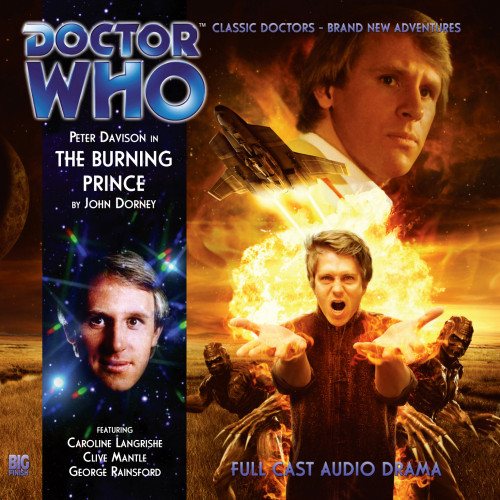 Doctor Who: THE BURING PRINCE - Big Finish 5th Doctor Audio CD #165