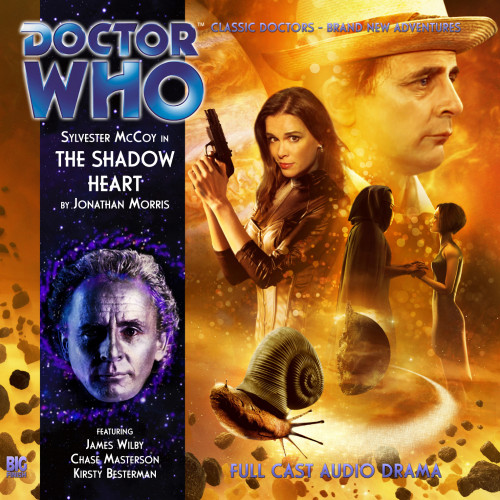 Doctor Who: THE SHADOW HEART - Big Finish 7th Doctor Audio CD #167