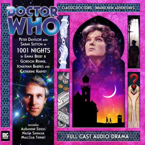 Doctor Who: 1001 NIGHTS - Big Finish 5th Doctor Audio CD #168