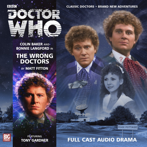 Doctor Who: THE WRONG DOCTORS - Big Finish 6th Doctor Audio CD #169