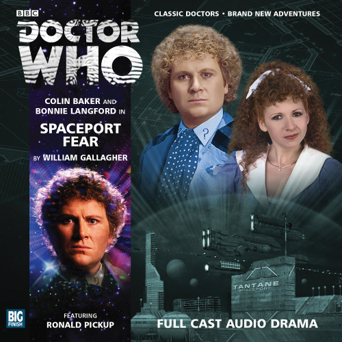 Doctor Who: SPACEPORT FEAR - Big Finish 6th Doctor Audio CD #170