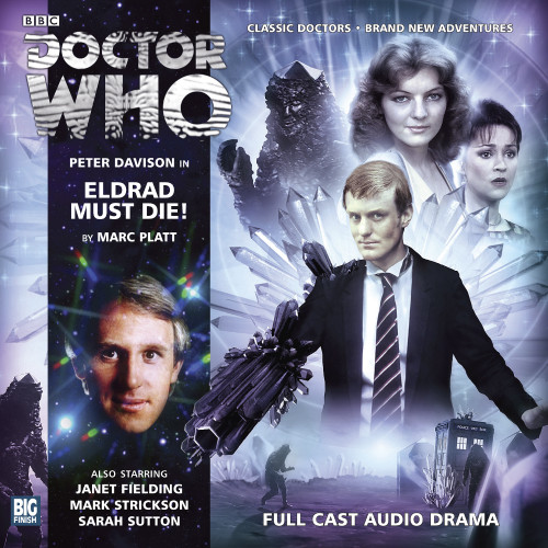 Doctor Who: ELDRAD MUST DIE - Big Finish 5th Doctor Audio CD #172
