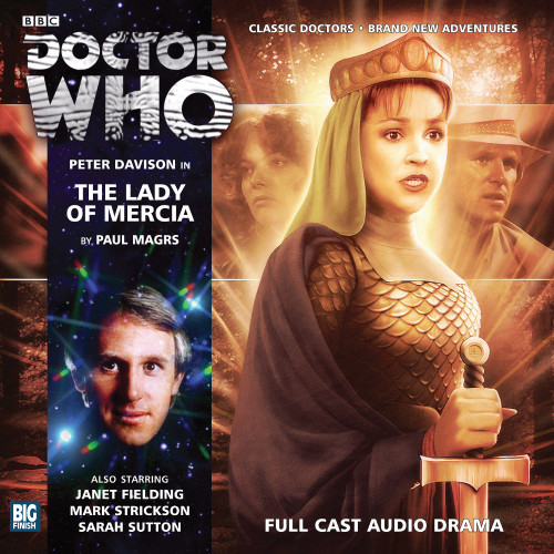 Doctor Who: THE LADY MERCIA - Big Finish 5th Doctor Audio CD #173