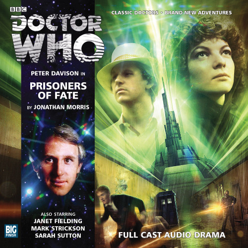 Doctor Who: PRISONERS OF FATE - Big Finish 5th Doctor Audio CD #174
