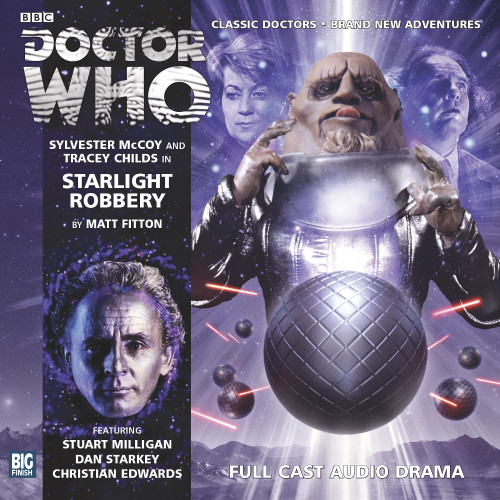 Doctor Who: STARLIGHT ROBBERY - Big Finish 7th Doctor Audio CD #176