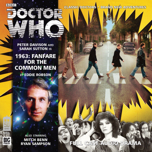 Doctor Who: 1963: FANFARE FOR THE COMMON MEN - Big Finish 5th Doctor Audio CD #178