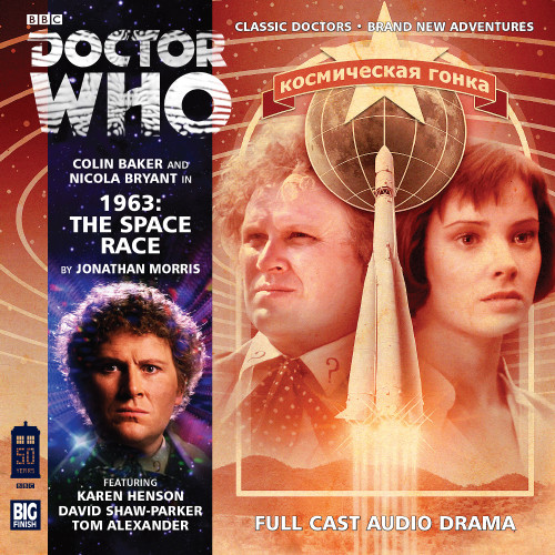 1963: The Space Race - Big Finish 6th Doctor Audio CD #179