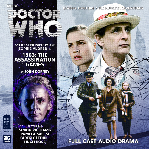 1963: The Assassination Games - Big Finish 7th Doctor Audio CD #180