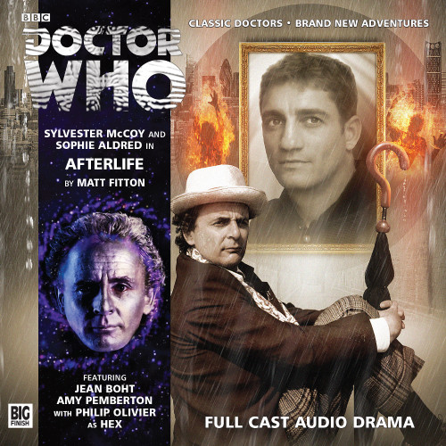 Doctor Who: AFTERLIFE - Big Finish 7th Doctor Audio CD #181