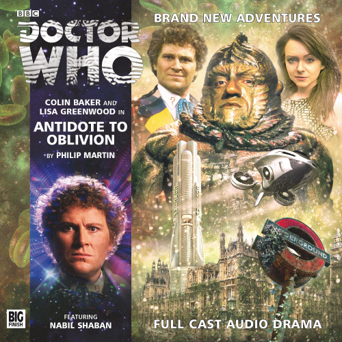 Doctor Who: ANTIDOTE TO OBLIVION - Big Finish 6th Doctor Audio CD #182
