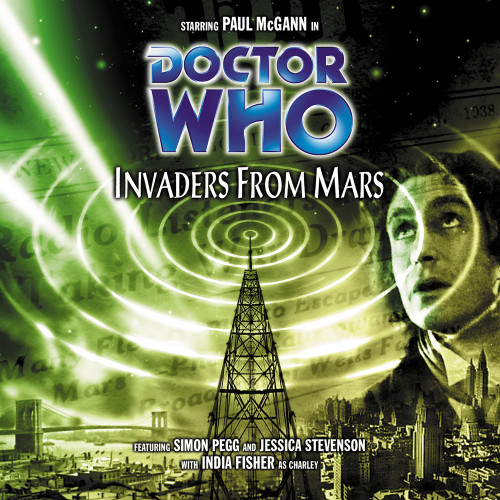 Doctor Who: INVADERS FROM MARS - Big Finish 8th Doctor Audio CD #28
