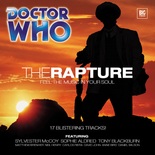 Doctor Who: THE RAPTURE - Big Finish 7th Doctor Audio CD #36