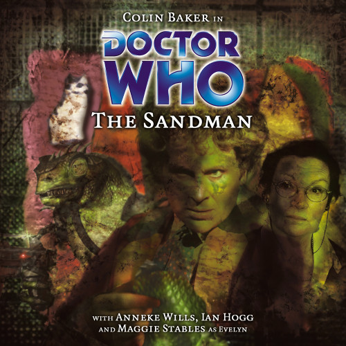 Doctor Who: THE SANDMAN - Big Finish 6th Doctor Audio CD #37