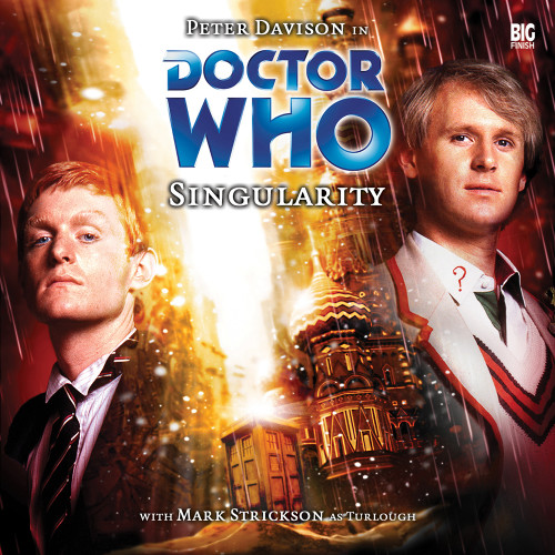 Doctor Who: SINGULARITY - Big Finish 5th Doctor Audio CD #76