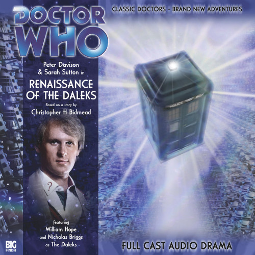 Doctor Who: RENAISSANCE OF THE DALEKS - Big Finish 5th Doctor Audio CD #93