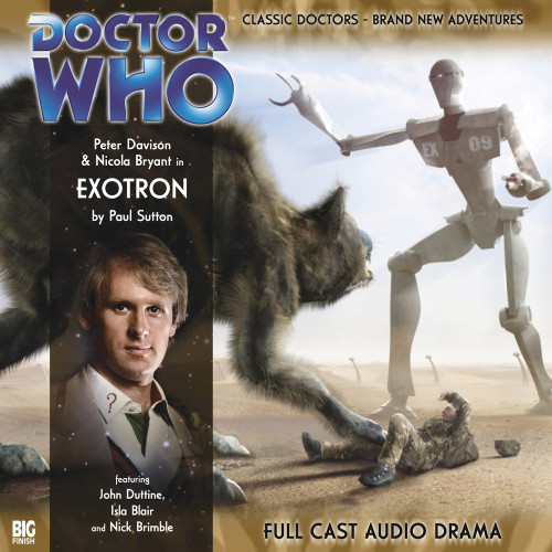Doctor Who: EXOTRON - Big Finish 5th Doctor Audio CD #95