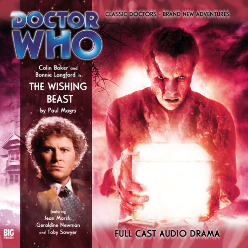 Doctor Who: THE WISHING BEAST - Big Finish 6th Doctor Audio CD #97